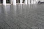 Gepolijste bestrating groen in wildverband|Liscio betonstraatstenen