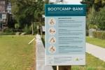 Bootcamp bank met diverse oefeningen