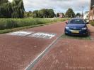 Verkeersdrempels 20 km/h met straatsteenmotief