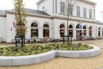 Omranding groen|zitelementen|Inrichting Nieuwe Willemshaven in Harlingen