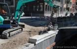 Plaatsen afdekbanden op kademuur|Campus Expansion Diemen