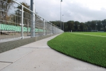 hoekoplossing verharding sportveld