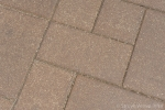 Verroeste tegels in wildverband|Metallo bestrating|Oxi tegel 20x20