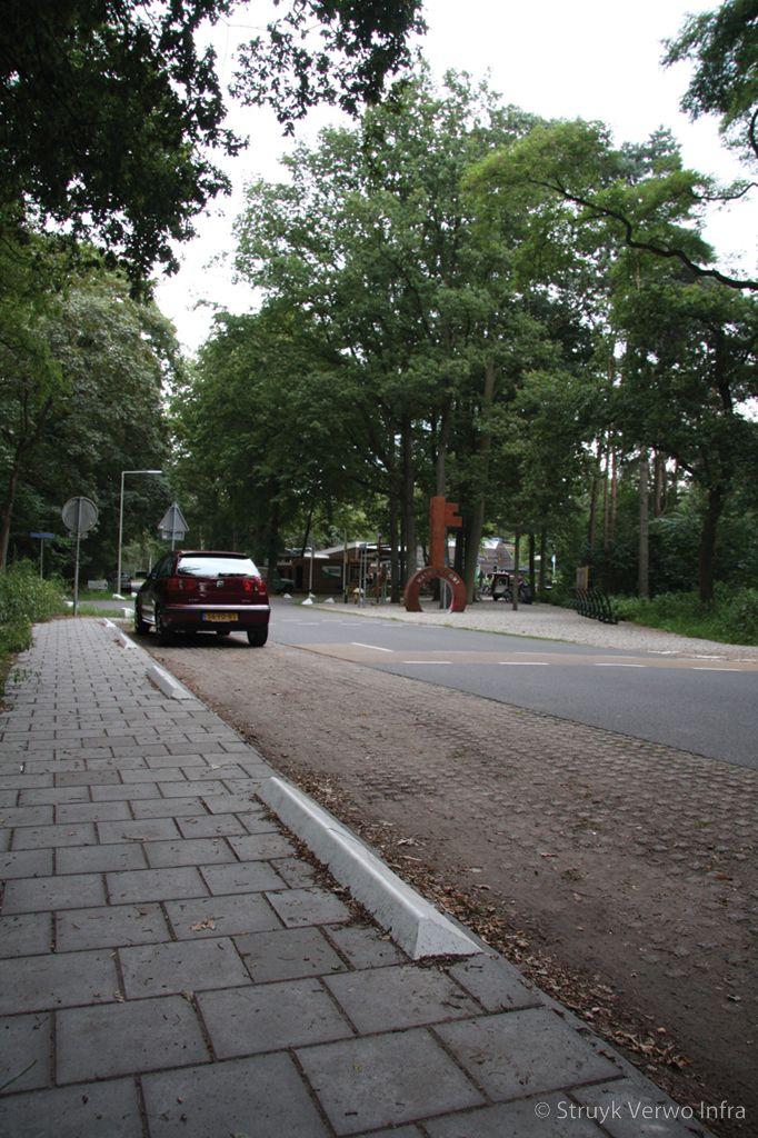 Stootband 20x17 tegen parkeren op de stoep