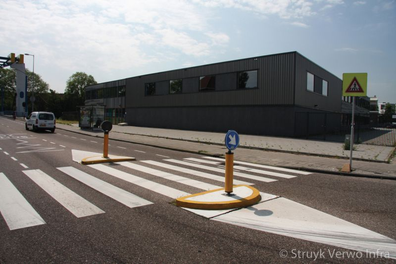 Zebrapad bij school
