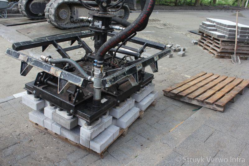 Mechanisch pakket betonstraatstenen 21x10 5