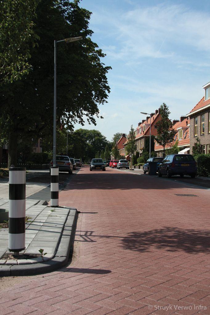 Silent way betonstraatsteen 21x10 5x8 rood