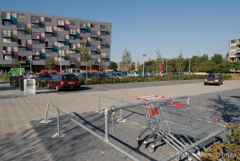 Parkeerplaats winkelcentrum