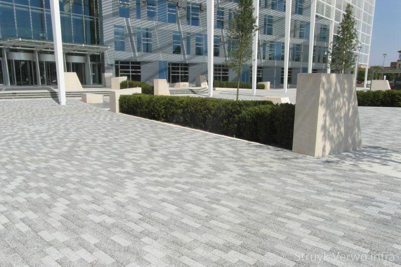 Betonstraatstenen 23 7x7 9 gemeleerde bestrating betonstraatstenen exclusieve bestrating