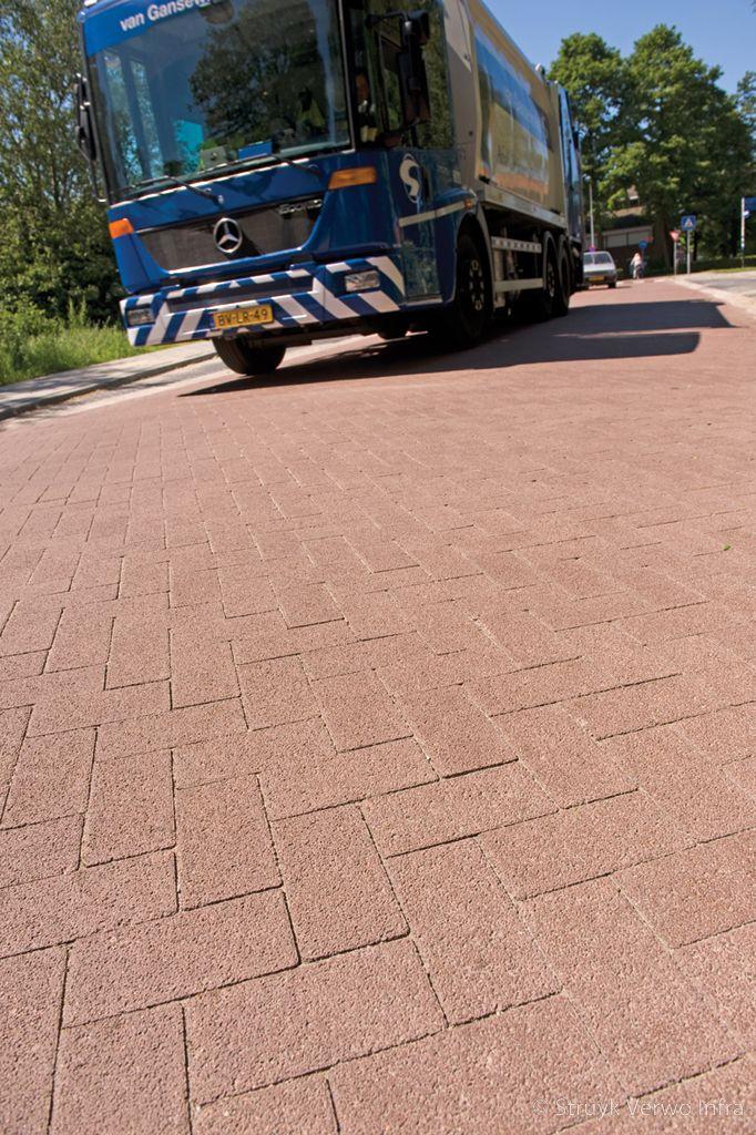 Stil wegdek liever geen asfalt