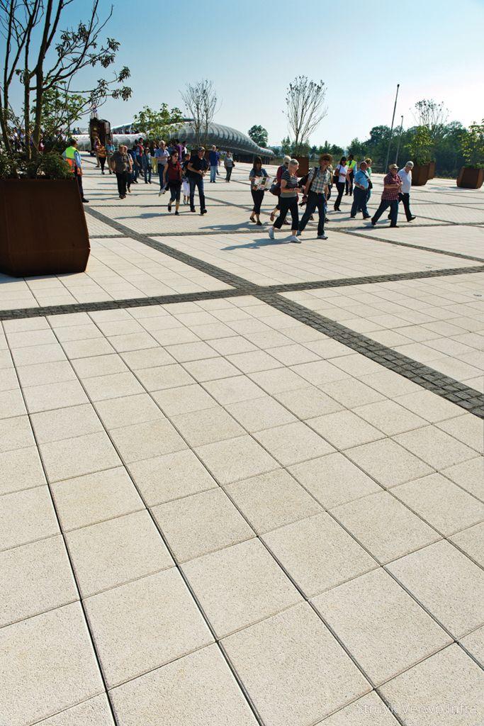 Lavaro betonstraatsteen 40x40