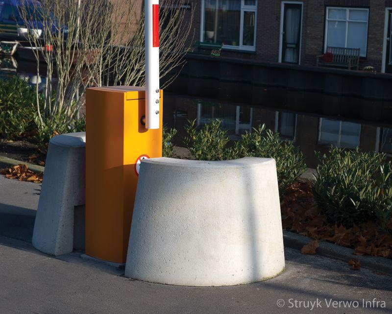Aanrijdbeveiliging beton afzetelement beton