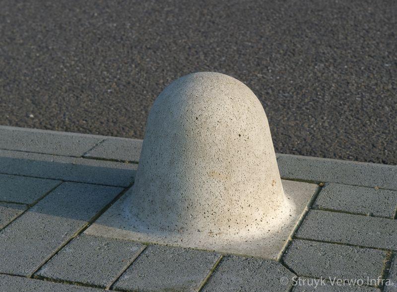 Sierpaal beton laag afzetelement beton