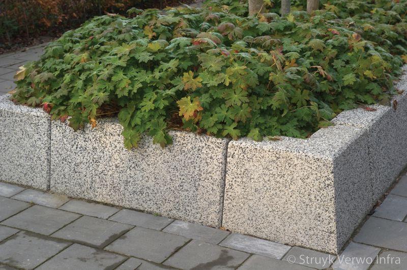 Bloembakbanden 20 40x70 keerelement beton