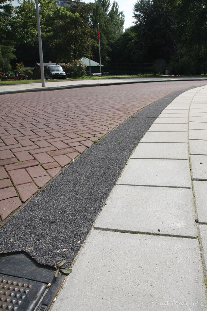Trottoirband 28 30x24x100cm lavaro zwart 701 brede betonbanden lavaro zwart 100
