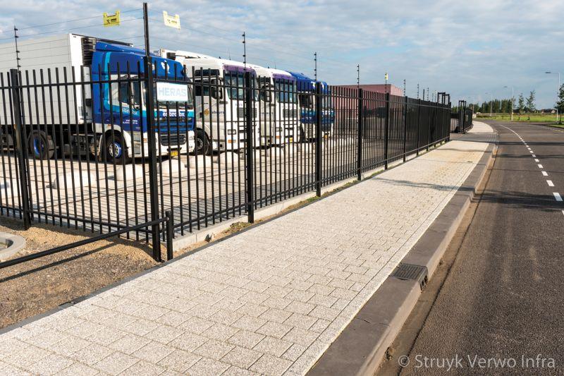 Verhogen zichtbaarheid omgeving bedrijventerrein