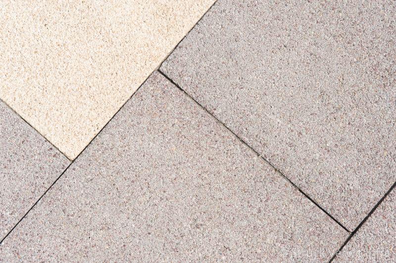 Breccia marrone betonstraatsteen elementenverharding