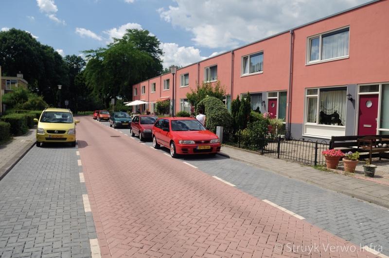 Waterpasserende steen in woonwijk reductie wateroverlast in woonwijk via bestrating
