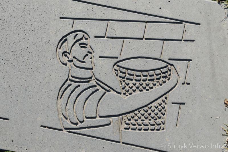 Figuur in beton figuratie in beton