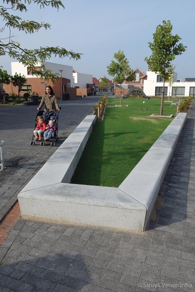 Gazonbescherming groenaanleg woonwijk pieckenhoef