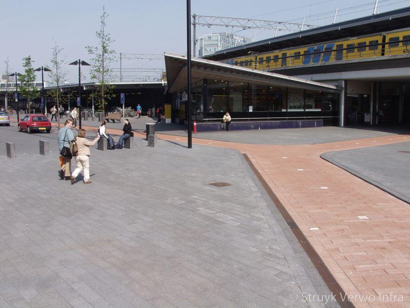 Fietspad station beukenhorst breccia