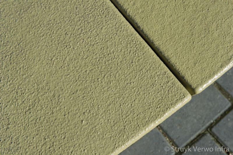 Gekleurde parkbanden beton