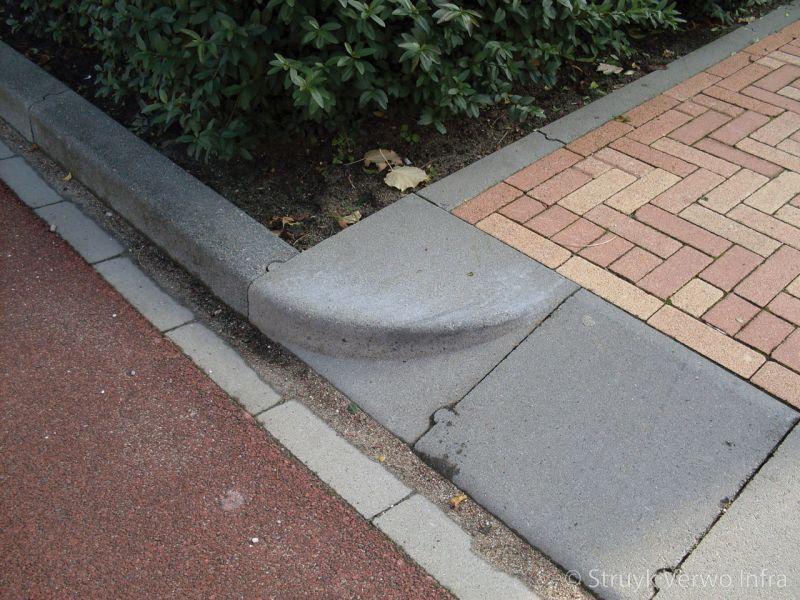 Inritblok met ronde kop inritblok 45 cm