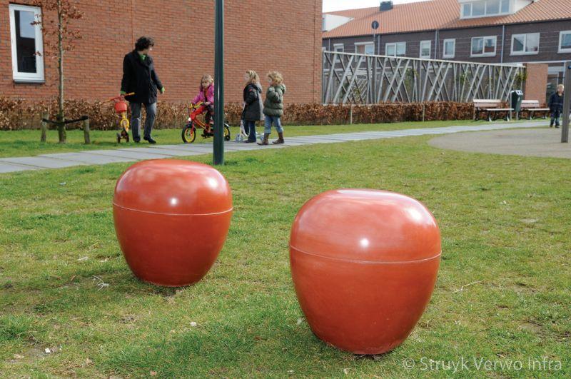 Betonnen zitpoef voor kinderen betonnen zitelement