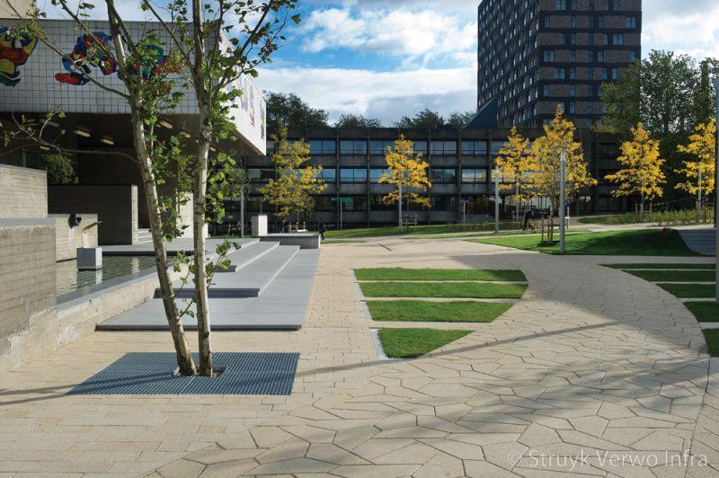 Verband stenen baby parksteen wildverband rotterdam erasmus universiteit