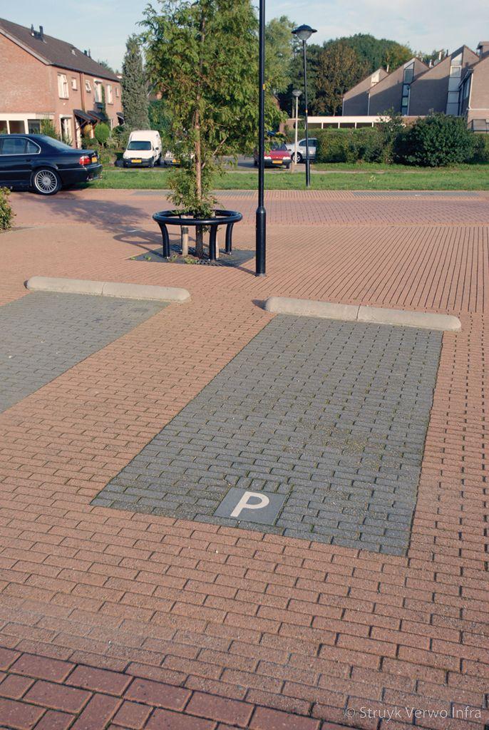 Parkeervakken in vinexlocatie
