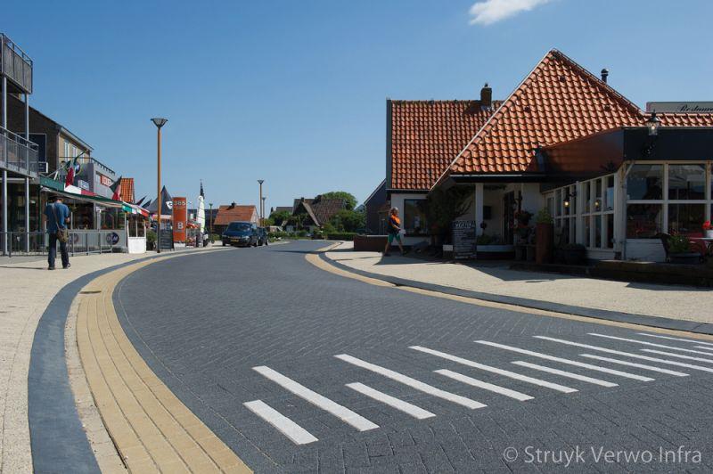 Parkeervakken dorpsweg callantsoog