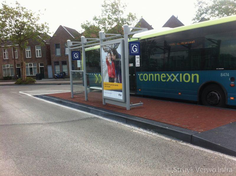 Prefab busperronplaten centraal station alkmaar