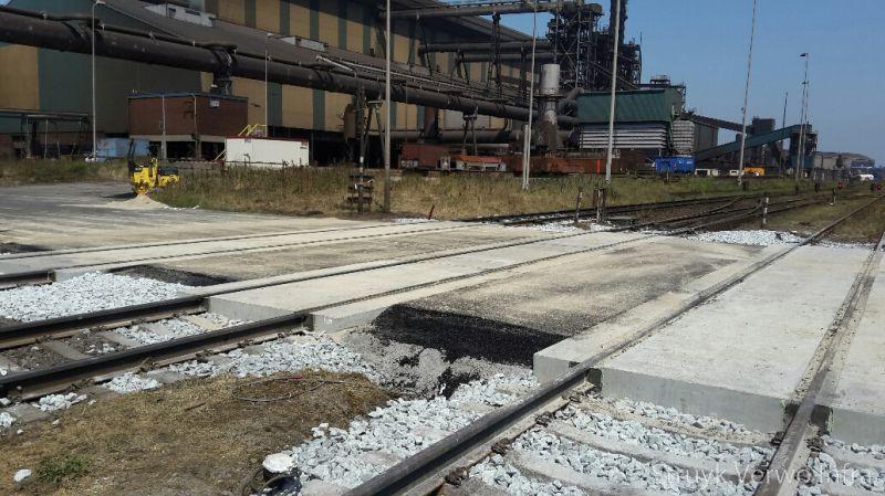 Raildraagplaat tata steel