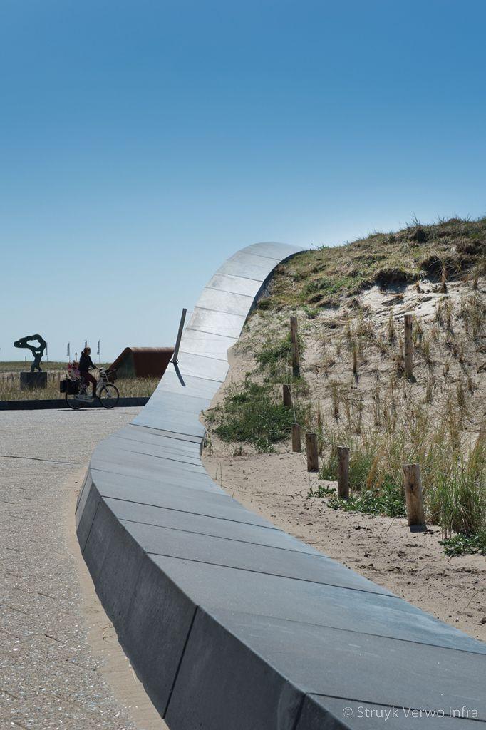Kunstwerk katwijk boulevard