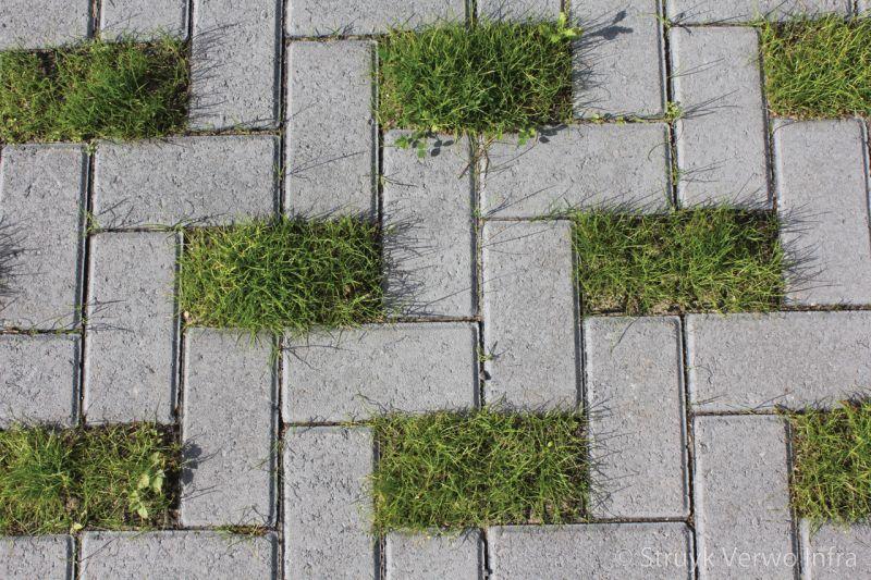 Greenbrick op parkeerplaats ursula park klimaatadaptieve bestrating