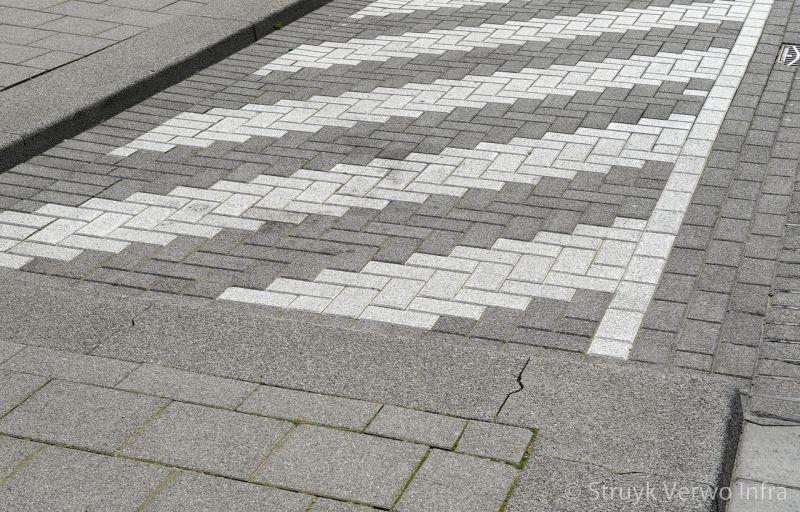 Hoekstuk brede trottoirband trottoirbanden 38 40