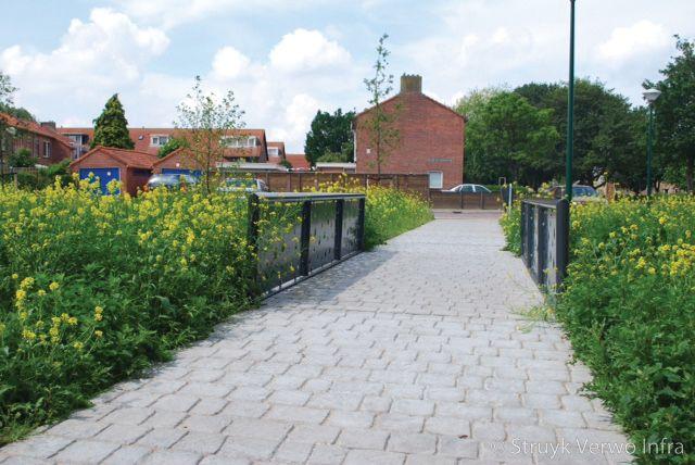 Cobblestone park woerden vloerplaat cobblestone