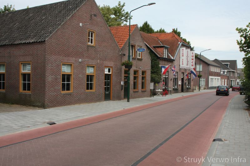 Minder geluidbelasting verkeer door stille straatsteen