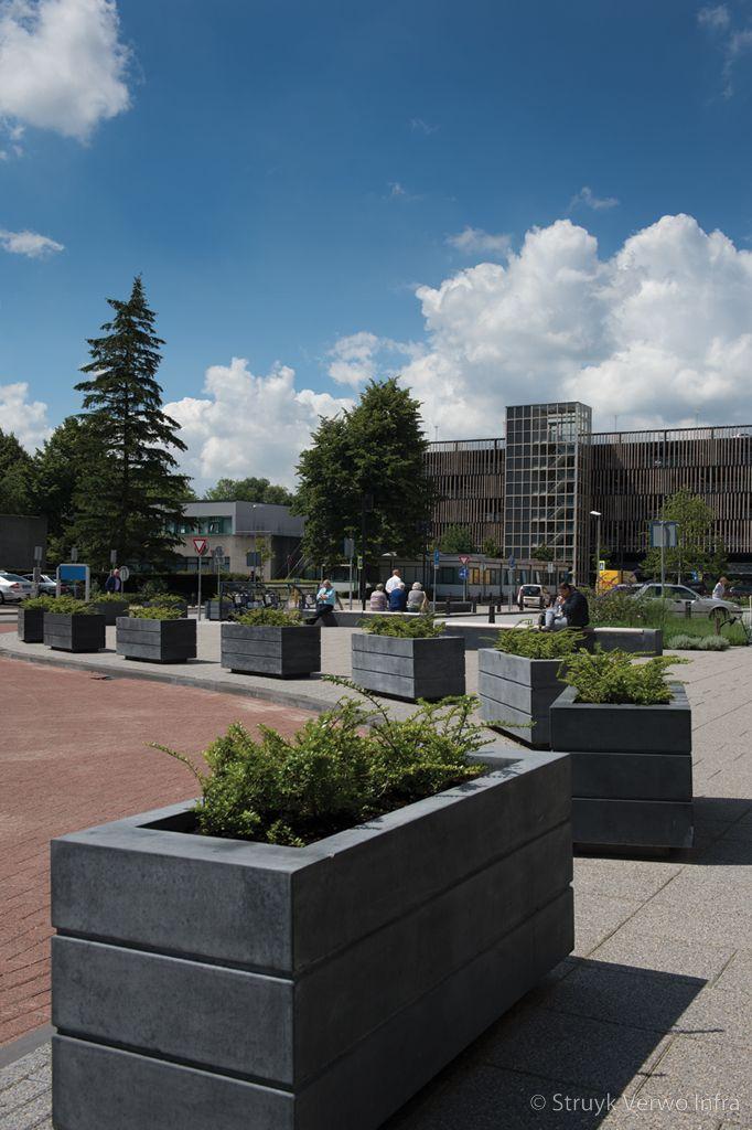Bloembak beton voor buiten bloembak avenue