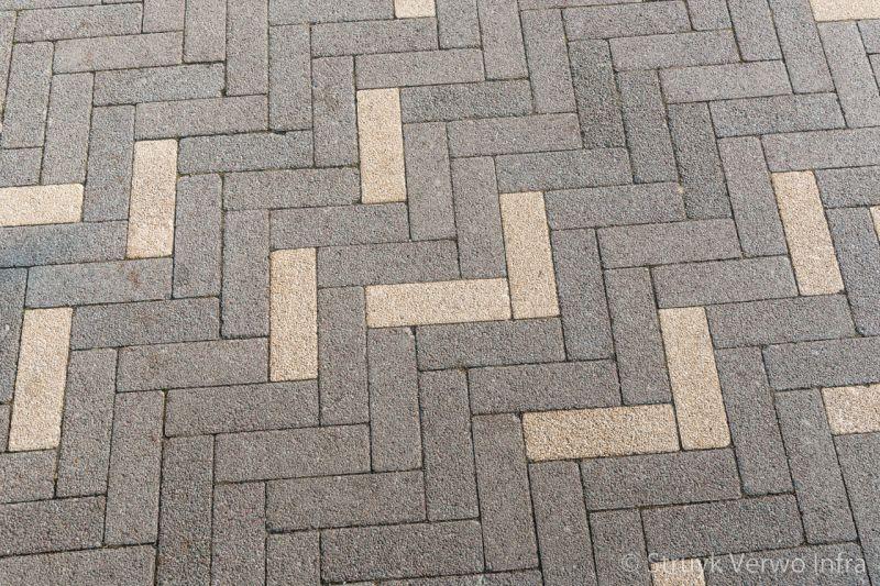 Breccia 21x6 9x8 marrone breccia 21x6 9x8 giallo betonstraatstenen