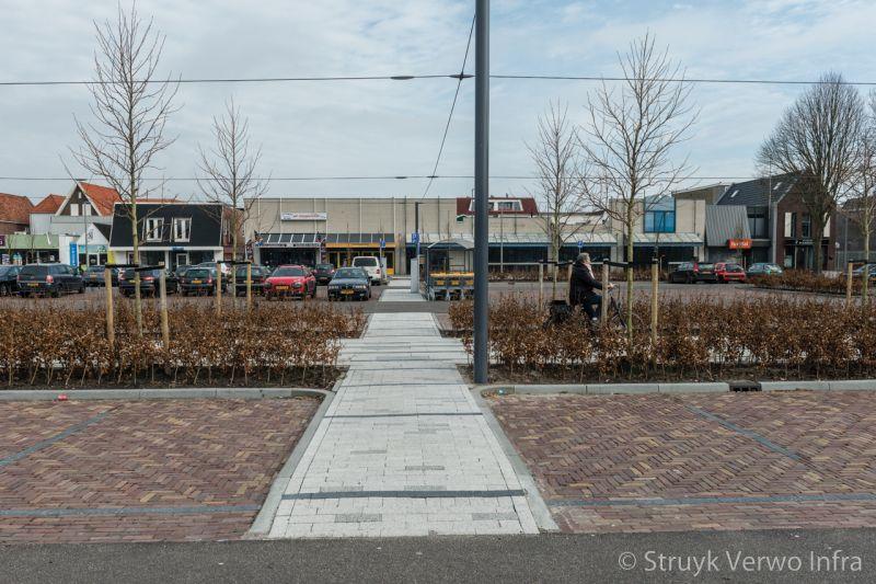 Reconstructie molenplein heerenveen herinrichting parkeerterrein