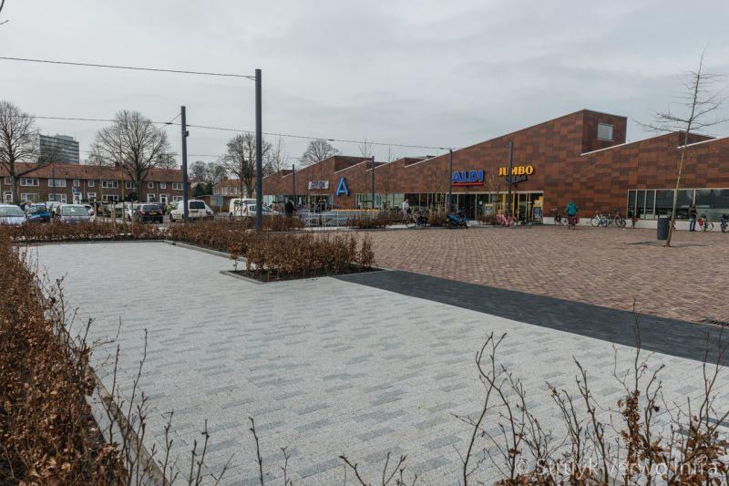 Mix bestrating in 30x10 molenplein heerenveen bestrating openbare ruimte