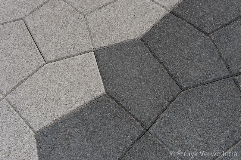Vijfhoekstenen parkstenen