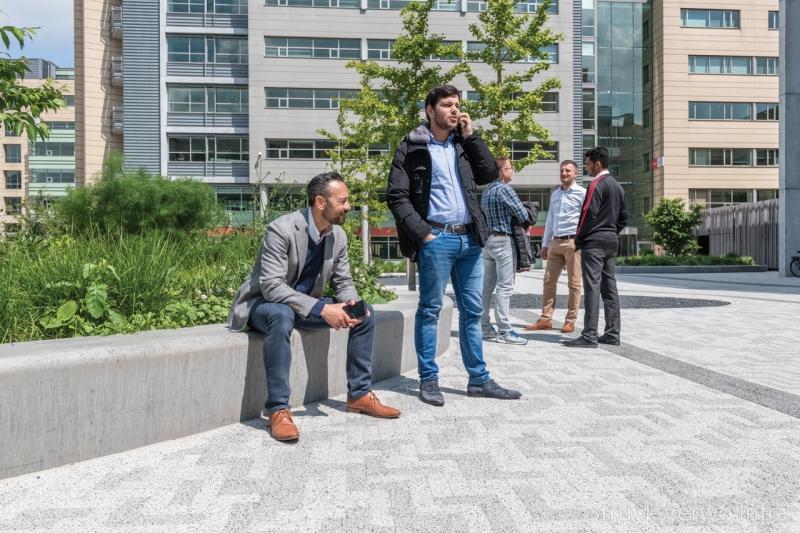 Inrichting verblijfsplek kantorenpark secoya campus