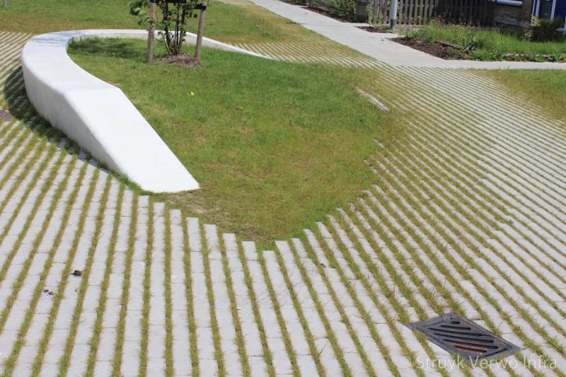 Groenbestrating hydro lineo lijnenspel met groen