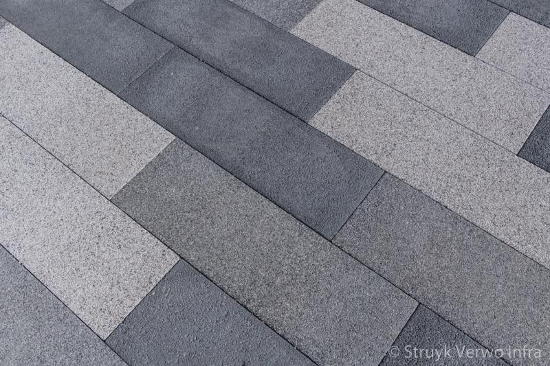 Mixpakket breccia tagenta betonstraatsteen 90x30 cm