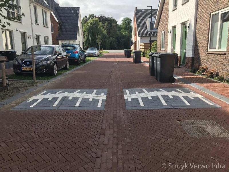 Verkeerskussen 20 km h in woonwijk