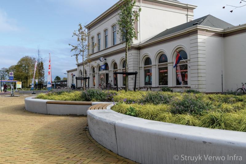 Groen in de stad inrichting nieuwe willemshaven in harlingen