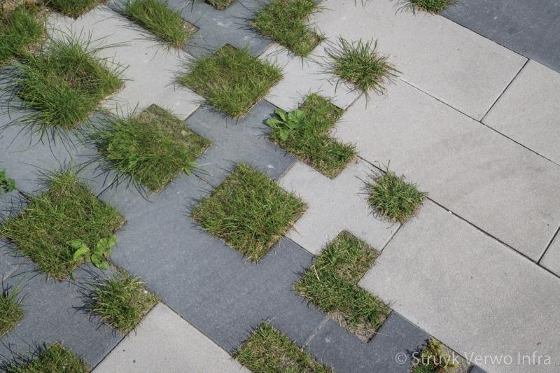 Groen op straat groenbestrating het vrije veld almere