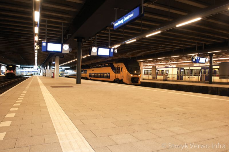 Ns station den haag centraal prorail